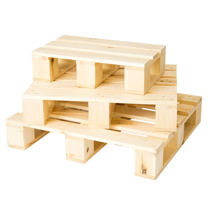 Image of Mini Raw Wood Pallets