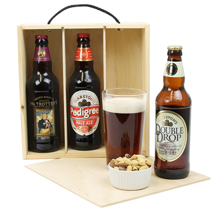 Image of Three Bottle Beer Box
