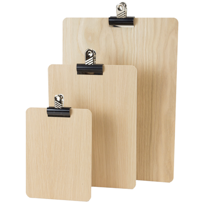 Image of Wooden Clipboards (Natural)
