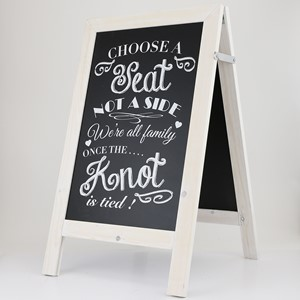 Image of Economy A-Frame Chalkboard