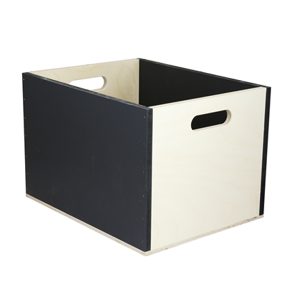 Image of Chalkboard Stackable Storage Box