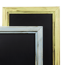 Image of Distressed Chunky Framed Chalkboard