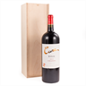 Image of Magnum Sliding Lid Plywood Wine Box