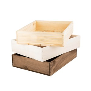 Image of Small Rustic Wooden Seeder Tray