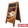 Image of Chunky A-Frame Poster Holder