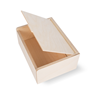 Image of Small Integral Hinged Wooden Gift Box