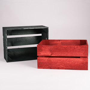Image of Small Festive Planter Crates