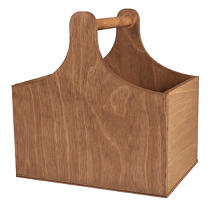 Image of Gold Cedar Small Wooden Trug