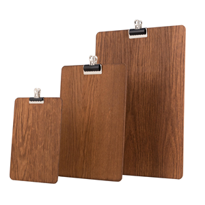 Image of Wooden Clipboard (Dark Stain)