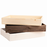 Image of Large Rustic Seeder Tray (Pack of 6)