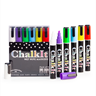Image of Chalk It Wet Wipe Liquid Chalk Markers - Pack of 6 - Assorted (6mm)