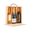 Image of Pack of 10 - 3 Bottle Wine Boxes