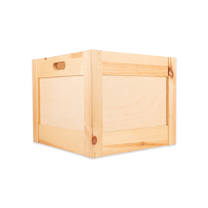 Image of Plywood & Pine Box