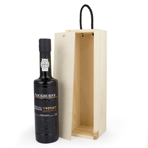 Image of 1/2 Bottle Wooden Wine Box