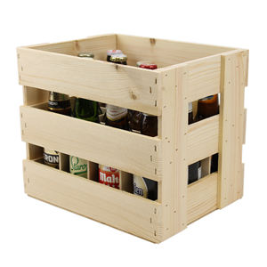 Image of 12 Bottle (330ml) Crate with Dividers