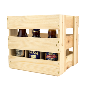 Image of 9 Bottle (500ml) Beer Crate