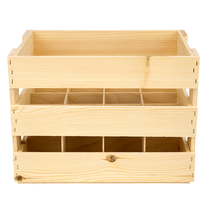 Image of 12 Bottle Beer Crate (500ml)