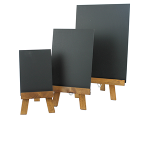 Image of Table Top Chalkboard & Easel