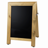 Image of Chunky A-Frame Chalkboard - Light Stained