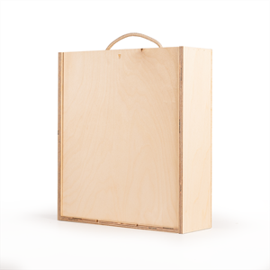Image of Three Bottle - Plywood Wine Box