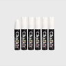 Image of Chalk It Wet Wipe Liquid Chalk Markers - Pack of 6 - White - (15mm)