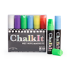 Image of Chalk It Wet Wipe Liquid Chalk Markers - Pack of 6 - Assorted - (15mm)